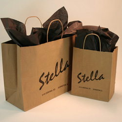 Custom paper bags small quantity
